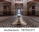 humayun tomb  delhi  india ... | Shutterstock . vector #787551577