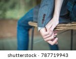 close up hands together of... | Shutterstock . vector #787719943