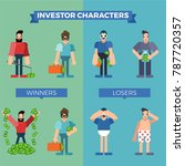 business people characters ... | Shutterstock .eps vector #787720357