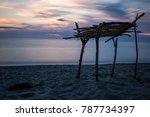 sea of versilia | Shutterstock . vector #787734397