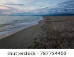 sea of versilia | Shutterstock . vector #787734403