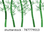 bamboo background. abstraction... | Shutterstock .eps vector #787779013