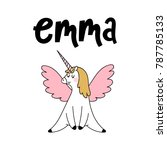 Emma Female Name With Cute...