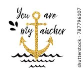 typographic banner with phrase...   Shutterstock .eps vector #787796107