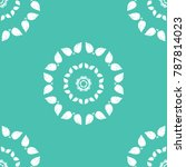 seamless floral pattern   Shutterstock .eps vector #787814023