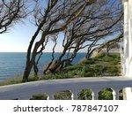 black sea landscape  | Shutterstock . vector #787847107