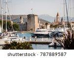 trogir  croatia   30 september  ... | Shutterstock . vector #787889587