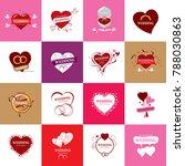 vector logo wedding | Shutterstock .eps vector #788030863