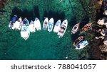 aerial drone bird's eye view...   Shutterstock . vector #788041057