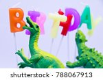 dinosaur is decorating the... | Shutterstock . vector #788067913