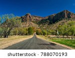 outback road  central... | Shutterstock . vector #788070193