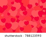 abstract background valantine... | Shutterstock .eps vector #788123593