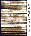 abstract grunge vector... | Shutterstock .eps vector #788129623