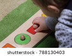 small child educational game... | Shutterstock . vector #788130403