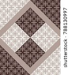seamless damask pattern....