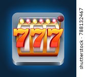 casino smartphone game icon... | Shutterstock . vector #788132467