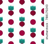 pattern with whole and slice of ... | Shutterstock .eps vector #788170243