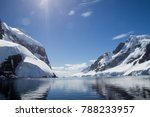 the lemaire channel  antarctic... | Shutterstock . vector #788233957