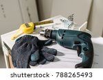 electric tools and equipment... | Shutterstock . vector #788265493