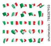 italy flag  vector illustration | Shutterstock .eps vector #788287933