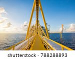offshore oil and gas central...   Shutterstock . vector #788288893