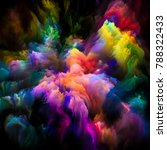 color explosion series.... | Shutterstock . vector #788322433