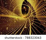 cpu mind series. interplay of... | Shutterstock . vector #788323063