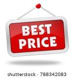 best price 3d illustration...   Shutterstock . vector #788342083