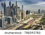 big megapolis traffic | Shutterstock . vector #788392783