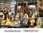 lines of trinkets and curios... | Shutterstock . vector #788420767