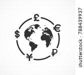 vector image of currency... | Shutterstock .eps vector #788439937