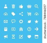 startup business flat icons | Shutterstock .eps vector #788446057