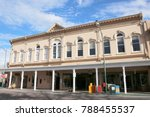 old historical buildings  santa ... | Shutterstock . vector #788455537