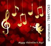 musical background for... | Shutterstock .eps vector #788477263