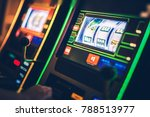 digital slot machines playing.... | Shutterstock . vector #788513977