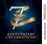 7th years anniversary... | Shutterstock .eps vector #788522323
