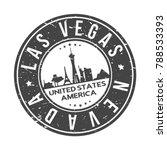 las vegas nevada usa stamp logo ...   Shutterstock .eps vector #788533393