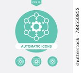 automation system and api... | Shutterstock .eps vector #788550853