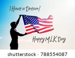 martin luther king day...   Shutterstock . vector #788554087