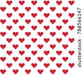 heart sign   symbol pattern... | Shutterstock .eps vector #788566147