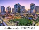 charlotte  north carolina  usa... | Shutterstock . vector #788573593