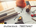 engineer and architect concept  ... | Shutterstock . vector #788576467