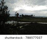 sunset in small village   Shutterstock . vector #788577037
