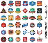 vintage retro vector logo for... | Shutterstock .eps vector #788600827