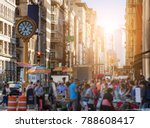 sunlight shines on the... | Shutterstock . vector #788608417