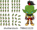 animated orc character for...