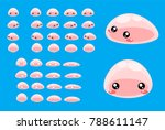 animated slime creature for... | Shutterstock .eps vector #788611147