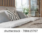 contemporary style of bedroom... | Shutterstock . vector #788615707