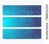 modern set of vector banners.... | Shutterstock .eps vector #788616163
