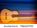 abstract blur music background...   Shutterstock .eps vector #788620783